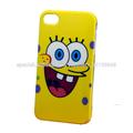 2014 al por mayor precio de fábrica para el iphone 4s caja del teléfono SpongeBob SquarePants Mario Hello Kitty lindo