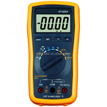 High Quality LCD Auto Range 3999 AC/DC Digital Multimeter Volt Amp Meter Electrical Tester Temperature/Frequency Function KT9204