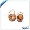 handmade wicker basket for wedding favors gifts
