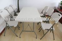 ideal party table folding table in plastic with lightweight