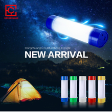 2015 1W DC 5V 1A 18650 Li-ion Battery Rechargeable Camping LED Lantern