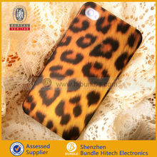 For iPhone 4 cover Matte,Rubberized Leopard Hard Case