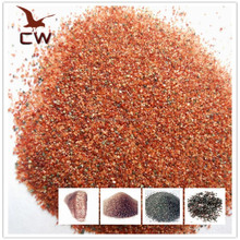 Garnet blasting abrasive, excluding free silicon, heavy metals and oher harmful ingredients,no radiation