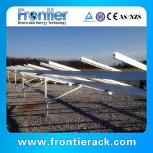 solar panel pole mounting system