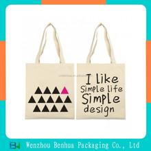 Printed cotton bag/promotional bag/canvas wholesale tote bags