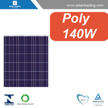 Factory directly 140w portable solar cell panels with power cables for home solar power station