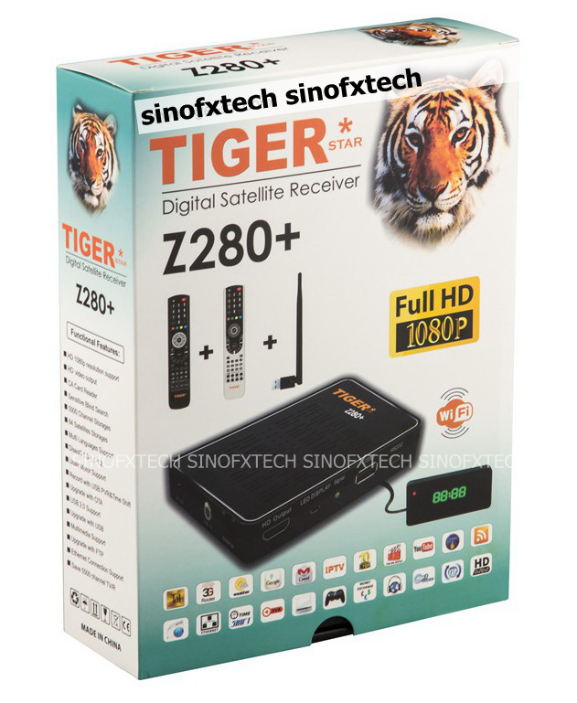Tiger Digital Satellite Receiver Z280 Tiger Z280 Full hd Satellite