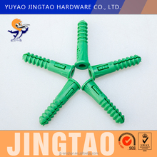 Hot sale super plastic expansion plug anchor with screw