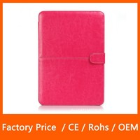 Best Selling Crazy Horse Gain Flip Leather Case Sleeve Skin Bag Cover For MacBook Air