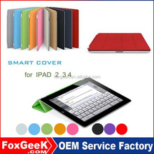 Hot selling multi Function Tablet case for ipad 2 3 4 with waterproof protective Smart Cover for IPAD