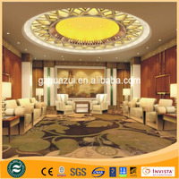 Wall to wall 80% New Zealand wool +20% Nylon axminster carpet for luxury hotel,Decorative,Commercial