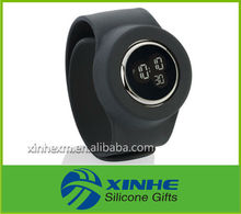 2013 new design promotional cheap digital silicone watch for Christmas gift