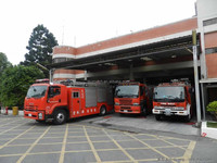 Special chassis for fire fighting truck 8x4