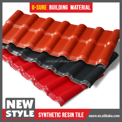 french roof tile / best price interlocking roof shingles / pvc roof water insulation materials