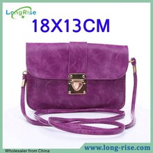 Wholesale 18x13cm Universal Multifunctional PU Leather Cell Phone Shoulder Bag