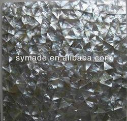 Irregular shell white wall tile natural shell mosaic