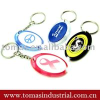 promotion gift led keyring