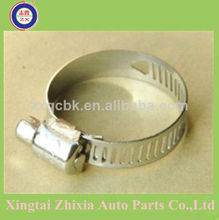 Automotive hose clamp adjustable clamps