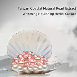 Natural Herbal Pearl Powder Extract Best Anti-freckle Face Whitening Capsule