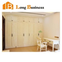 LB-JL3049 Modern solid Wood cheap corner bedroom wardrobe at factory price