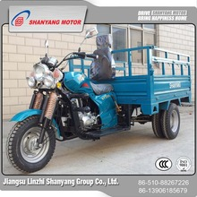 heavy-duty Two rear wheel motorcycle/tricycle for cargo
