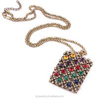 Original Manufacturer Wholesale Fancy Long Chain Gold Ball Chain Necklace