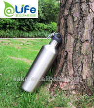 BPA FREE 1500ml stainless steel sports water bottles/water canteen