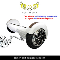0007 Adult Two Wheel Electric Kickboard Scooter With Water Proof Function