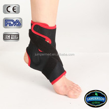 hot sale neoprene ankle braces/breathable elastic ankle support