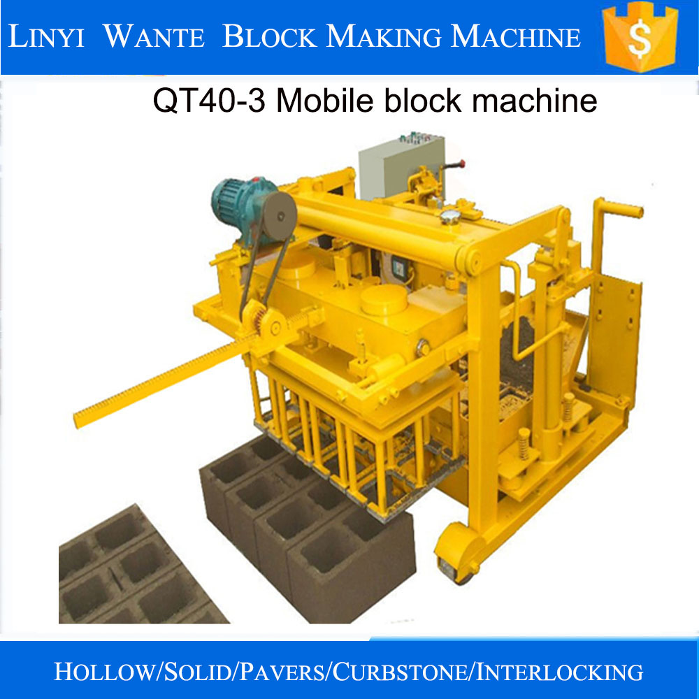 egg laying concrete block machine