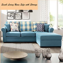 Simple and small living room sofa with storage comfortable sofa bed furniture