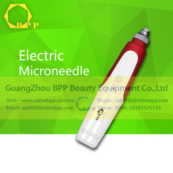 No permanent damage or injury rechargeable electric microneedle
