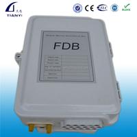 16 Port Pole Mount Fiber Optic CableTerminal Box With PLC Splitter (FDB Box)