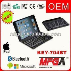 aluminium bluetooth keyboard for ipad 4