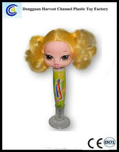 sex young lady Promotional plastic ball pen