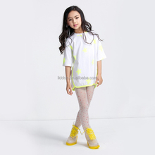 Best brand socks manufacturer children printed silk stockings wholesale for girls
