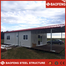 insulated prefab container home/cheap prefab homes