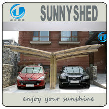 Awning for car with aluminum frame
