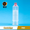 24ml 1:1 PBT/PP Epoxy Resin Barrel Syringes