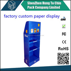 Manufactuer supplier retail wholesale promotion 4 color printing fruit and vegetable display stand