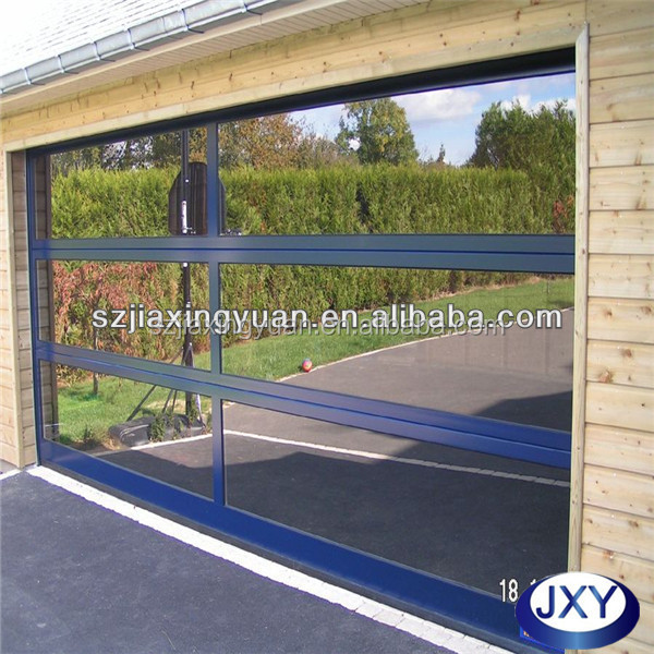 aluminum garage door prices 5mm glass garage door