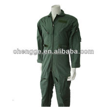 Nomex IIIA Flight Suit with sage green color for pilot