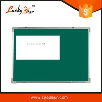 zhejiang redsun magnetic greenboard steel with grid line in white black green color