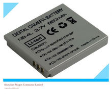 replacement for canon digital battery Digital camera battery for Canon NB4L heros 4 charger