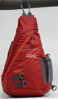 Hot sell one strap backpack,triangle shape bag,backpack trangle