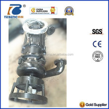 wear-resistant Submersible slurry water pump with agitator
