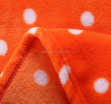 cheap and light durable flannel fleece blanket as best gifts for 2015 promotion
