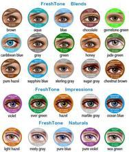 25 colores corea Freshtone cosmética de lentes de contacto de color