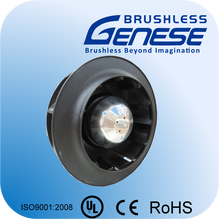 Plastic PA high efficiency sensorless BLDC centrifugal fan