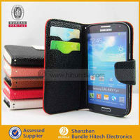 For Samsung Galaxy S4 card case,luxury flip cover,with a card pocket